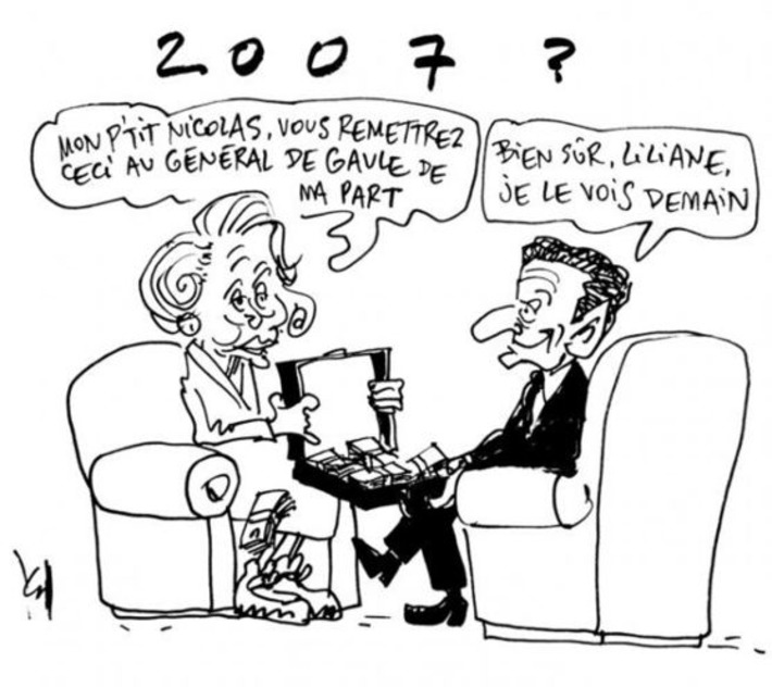 Liliane, le Grand Charles et le petit Nicolas | Baie d'humour | Scoop.it