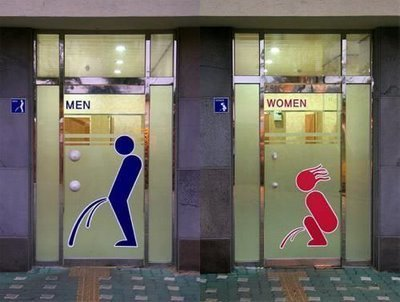 20 Creative and Funny Toilet Signs | Looks -Pictures, Images, Visual Languages | Scoop.it
