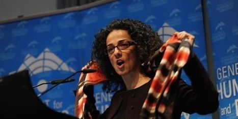 Une Iranienne récompensée pour avoir encouragé les femmes à ôter leur voile | Journée de la Femme | Scoop.it