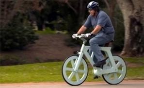 "Man invents cardboard bike (video) - Kiwi Kids News   Switch On - ""Making Thinking Visible""   Scoop.it"