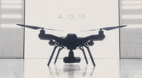 3D Robotics teases stylish drone with pro features | Smart devices and technology solutions | Scoop.it