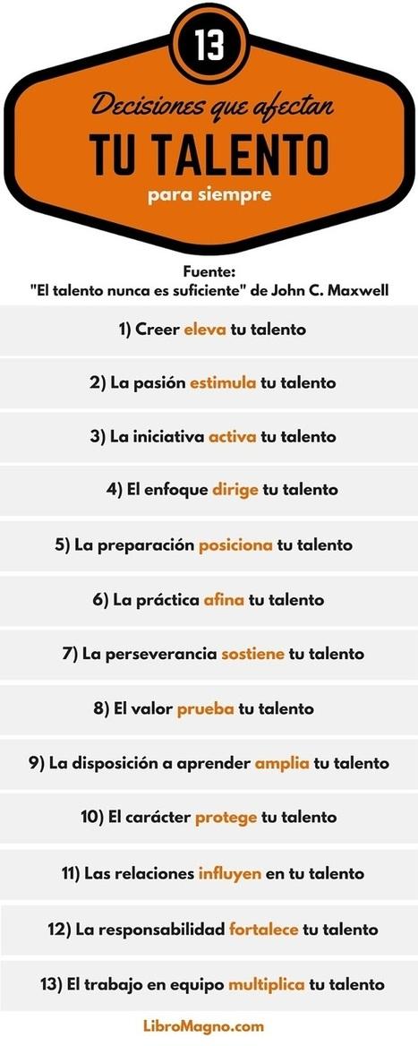 13 decisiones que afectan tu talento para siempre. | ser o no ser | Scoop.it