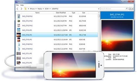 Explorer votre iPhone & iPad depuis Mac ou PC | iBrowse | Actus vues par TousPourUn | Scoop.it