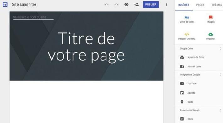 Premiers pas avec le nouveau Google Sites | TIC et TICE mais... en français | Scoop.it