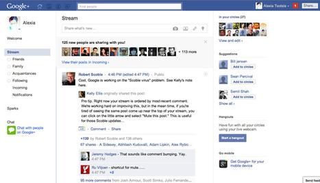 Turn Google+ IntoFacebook | The Google+ Project | Scoop.it