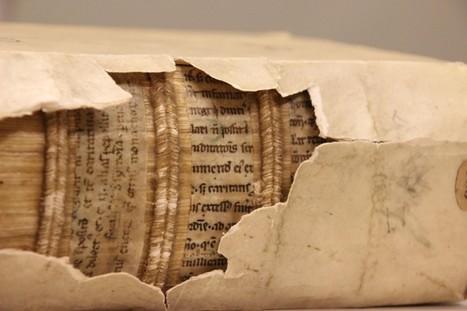 Manuscritos medievais descobertos em encadernações de livros | History 2[+or less 3].0 | Scoop.it