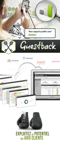 Lancement Guestback, réputation hôtelière. | Hotel Web Marketing | Scoop.it