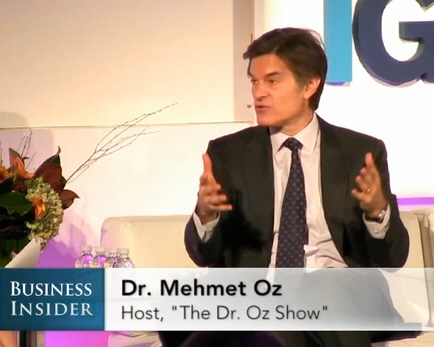 Dr. Oz: The Future Of Medicine Will Depend On Technology, Not Doctors | Quantified-Self & Gamification | Scoop.it