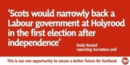 Labour on course to govern in an independent Scotland | Referendum 2014 | Scoop.it