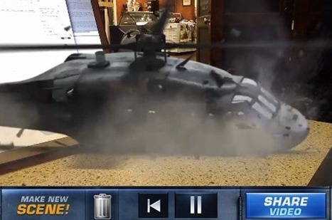 Action Movie FX for iPhone lets you blow everything up with your camera - SlashGear | Machinimania | Scoop.it