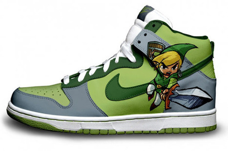 Bioshock, Angry Birds, Halo, Portal, Harry Potter… – 40 New custom sneakers by Brass Monki   Custom shoes design   Scoop.it
