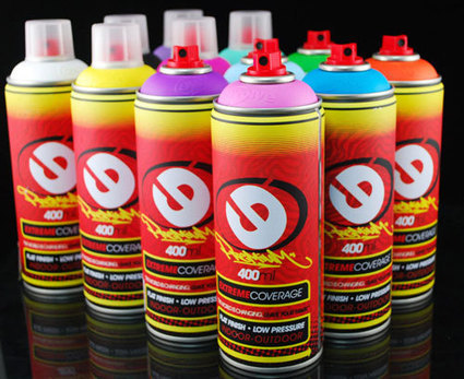 The 10 best Spray Paint brands at this moment   Graffiti Art Studio   Scoop.it