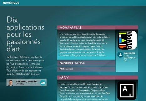 10 applications pour les passionnés d'art - La Presse+ | Kaleko | Scoop.it