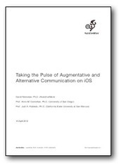 AssistiveWare - Taking the Pulse of Augmentative and Alternative Communication on iOS | Augmentative and Alternative Communication (AAC) | Scoop.it