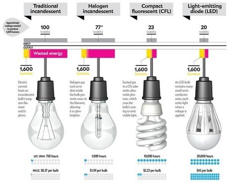 Enlighten yourself on today's Energy efficient bulbs | Sustain Our Earth | Scoop.it