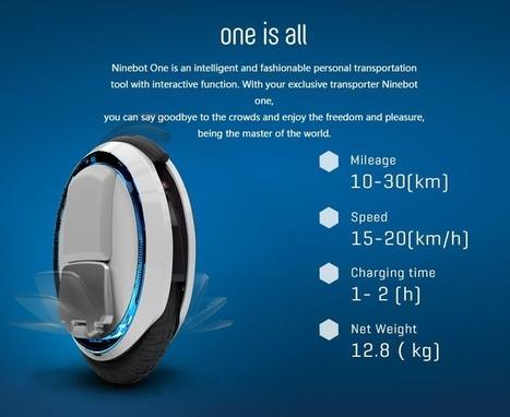 Le Ninebot One, un sérieux concurrent du Solowheel | Ressources pour la Technologie au College | Scoop.it