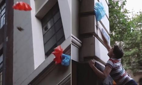Melbourne restaurant Jafflechutes delivers sandwiches by parachute | Stuff | Scoop.it