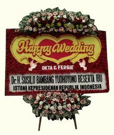Bunga Papan Pernikahan Grand Ballroom Hotel Dharmawangsa   Toko Bunga by Florist Jakarta   Bunga Ucapan Selamat   Scoop.it