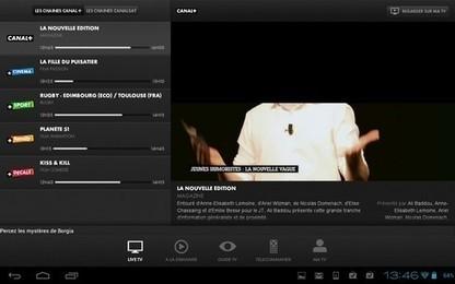 Regarder la télé et des films en direct ou en replay sur sa tablette Android   L'Univers du Cloud Computing dans le Monde et Ailleurs   Scoop.it