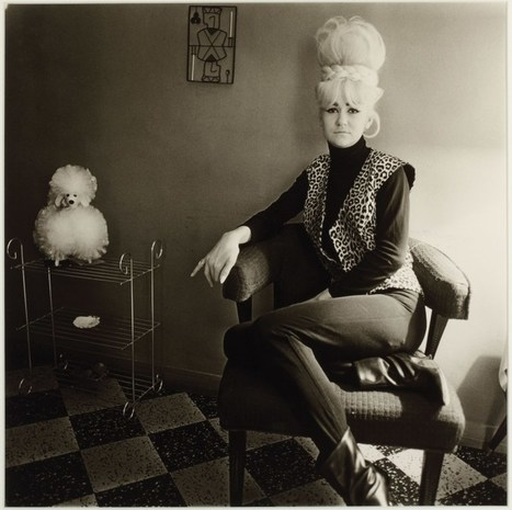 Lady bartender at home, New Orleans (by Diane Arbus, 1964) | Photography Now | Scoop.it
