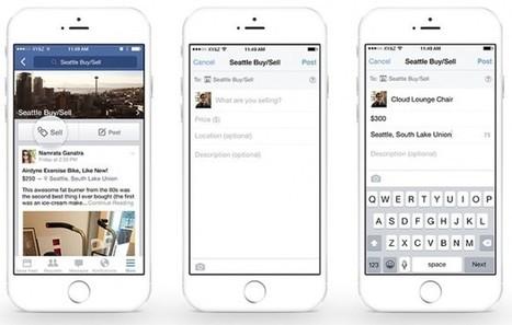 Facebook souhaite faciliter la commerce au sein de ses groupes | Social Media - ES | Scoop.it
