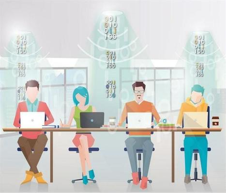 Lucibel connecte internet en haut-débit par la lumière, en Lifi ! | D'Dline 2020, vecteur du bâtiment durable | Scoop.it