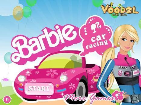 باربي في سباق سيارات | العاب تلبيس بنات | Scoop.it