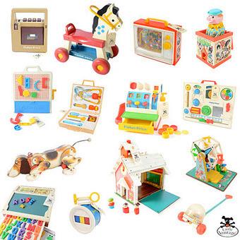LITTLE VINTAGE: Fisher-Price, les jouets indémodables | Jouets enfant | Scoop.it