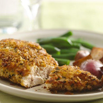 Quick 'n Crunchy Potato Chip Chicken | Food & Beverages | Scoop.it