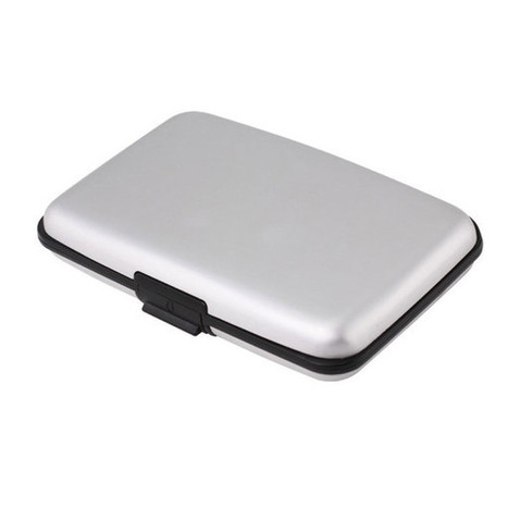 Lightweight Silver Metal Wallet | Cool Accessories | Scoop.it