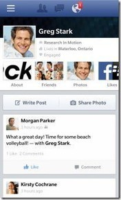 Facebook for BlackBerry 10.2 Updated With New Design and Features - BerryReview (blog)   Facebook Stats, Strategies + Tips   Scoop.it