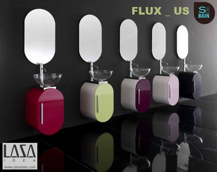 Collection de meubles de salle de bain Flus_US - LASA IDEA | Design de la salle bain | Scoop.it