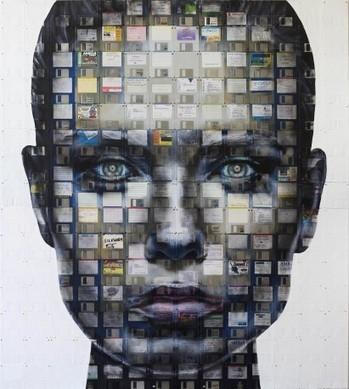 Artists Series 41 - Nick Gentry - Artists Inspire Artists | Art | Scoop.it