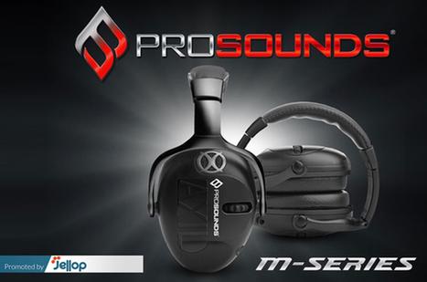Pro Sound série M, des casques anti-bruit pour chasseurs, ouvriers ou professionnels du son | ON-ZeGreen | Scoop.it