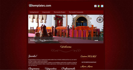 Free Joomla 2.5 template hotel | Free Joomla Templates | sdsdf | Scoop.it