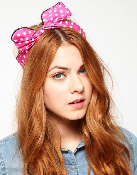 3 idées de coiffure retro avec un headband » Babillages   Educatel - Découvrez les formations à distance dans le domaine de la beauté   Scoop.it