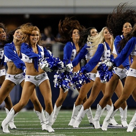 How Twitter Hooked a College Kid Up With a Dallas Cowboys Cheerleader | Ken's Odds & Ends | Scoop.it