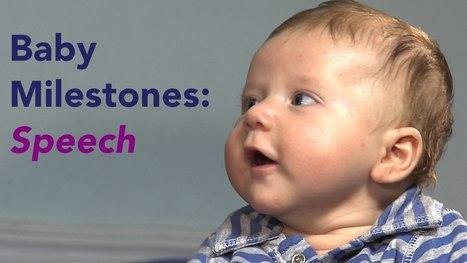 Developmental Milestones: Baby Talk from First Sounds to First Words - YouTube | Educatie en Pedagogiek | Scoop.it