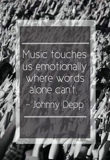 Music Touches Us Emotionally Where Words Alone Can't | Communicate...and how! | Scoop.it