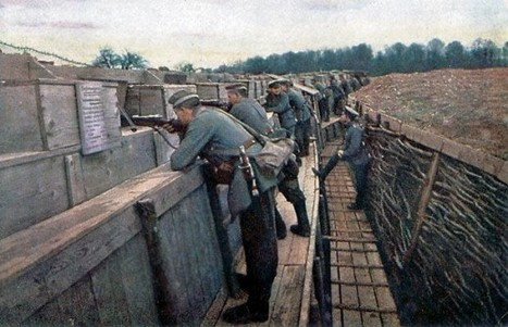 Colour photographs of the German Front, WWI | GenealoNet | Scoop.it