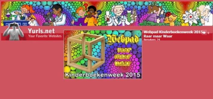 Edu-Curator: Nieuw van Jack Nowee: Webpad Kinderboekenweek 2015 'Raar maar Waar' | Educatief Internet - Gespot op 't Web | Scoop.it