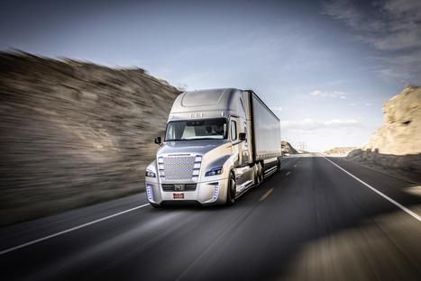 Self-Driving Semi Is King Of The Road | Transport & Logistics | Scoop.it