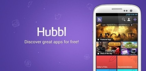 Hubbl - Free Apps Finder - Android Apps on Google Play   Android Apps in Education   Scoop.it