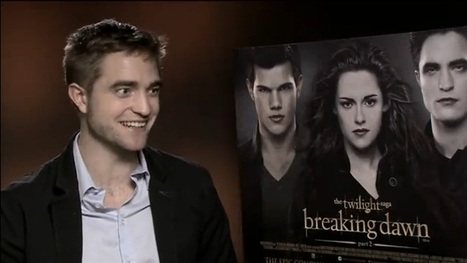 Orange UK | Breaking Dawn - Part 2: Robert Pattinson exclusive interview (BD2 Press Junket, London) | Robert Pattinson Daily News, Photo, Video & Fan Art | Scoop.it