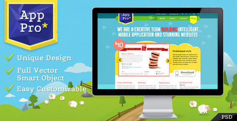 15 Premium PSD Templates for December 2011   Get your PSD's Converted to HTML   Scoop.it