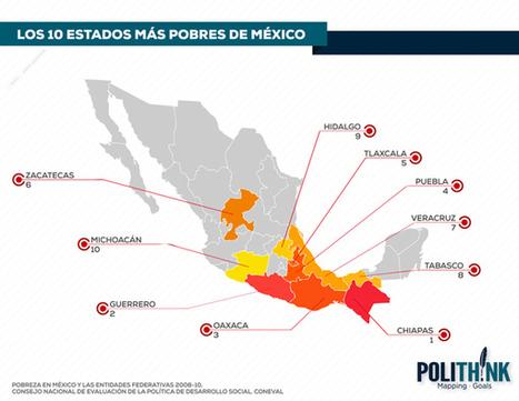 POLITHINK · LOS 10 ESTADOS MÁS RICOS DE MÉXICO | The Geography of Mexico | Scoop.it