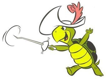 Greatest Cartoon Character Ever? ANSWER: TOUCHE TURTLE!! | Fencing for ALL | Scoop.it