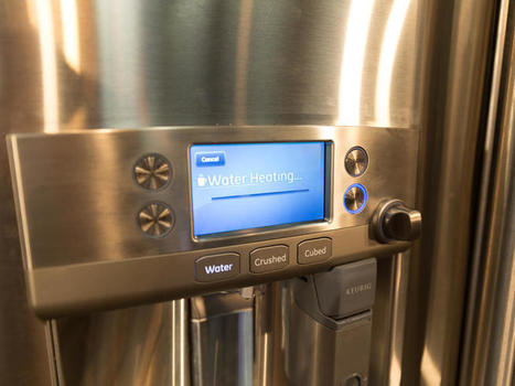 GE Cafe Series French door refrigerator with Keurig K-Cup Brewing System Preview - CNET | The SmartHome | Scoop.it