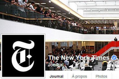 Le New-York Times compte bien trouver ses nouveaux abonnés au sein de Facebook   Riding the new waves   Scoop.it