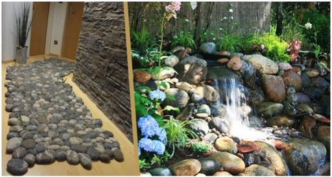 Try your decor with rocks and pebbles | TGS Layouts | Scoop.it